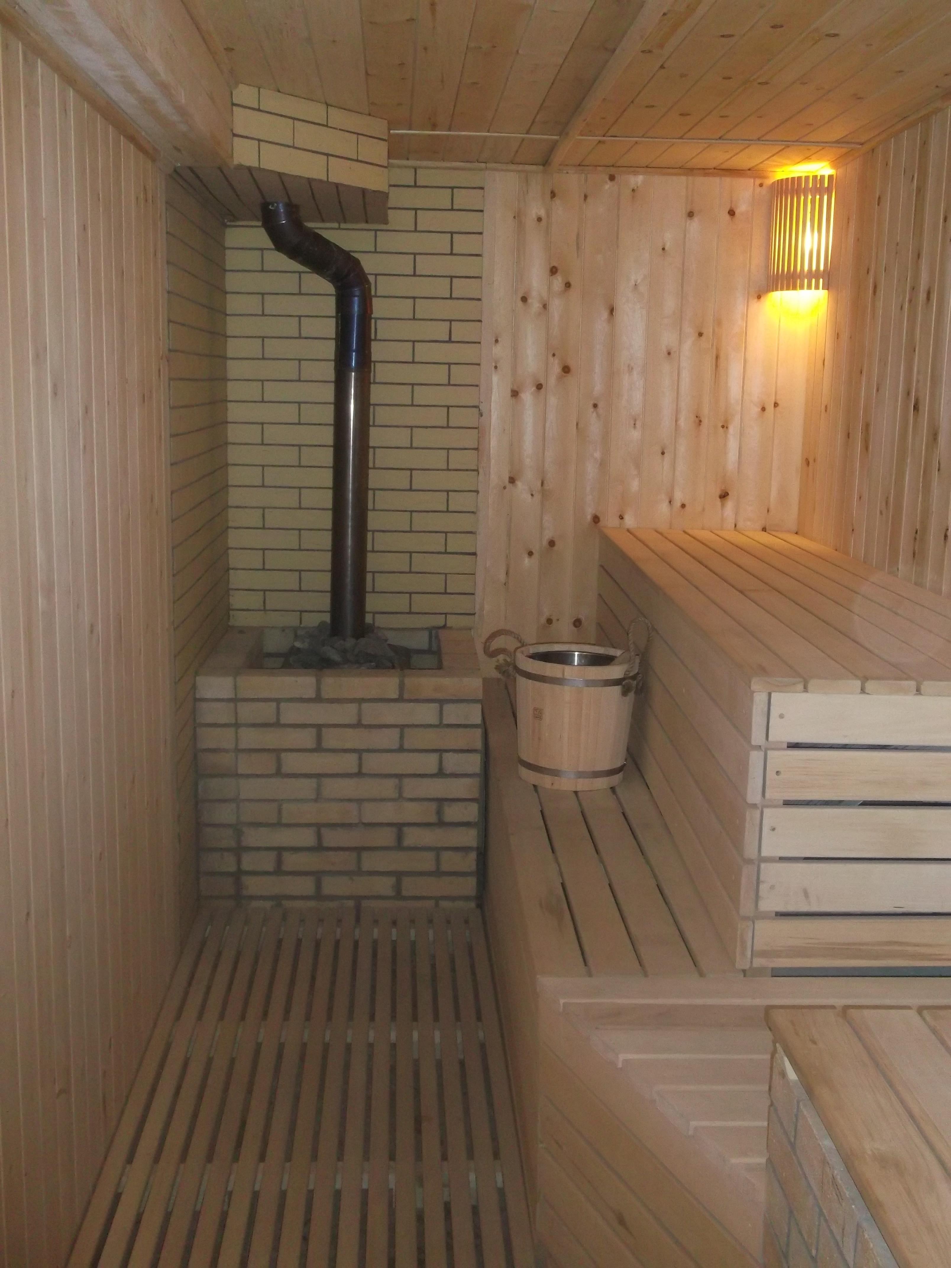 Как должна быть устроена моечная в бане 26
