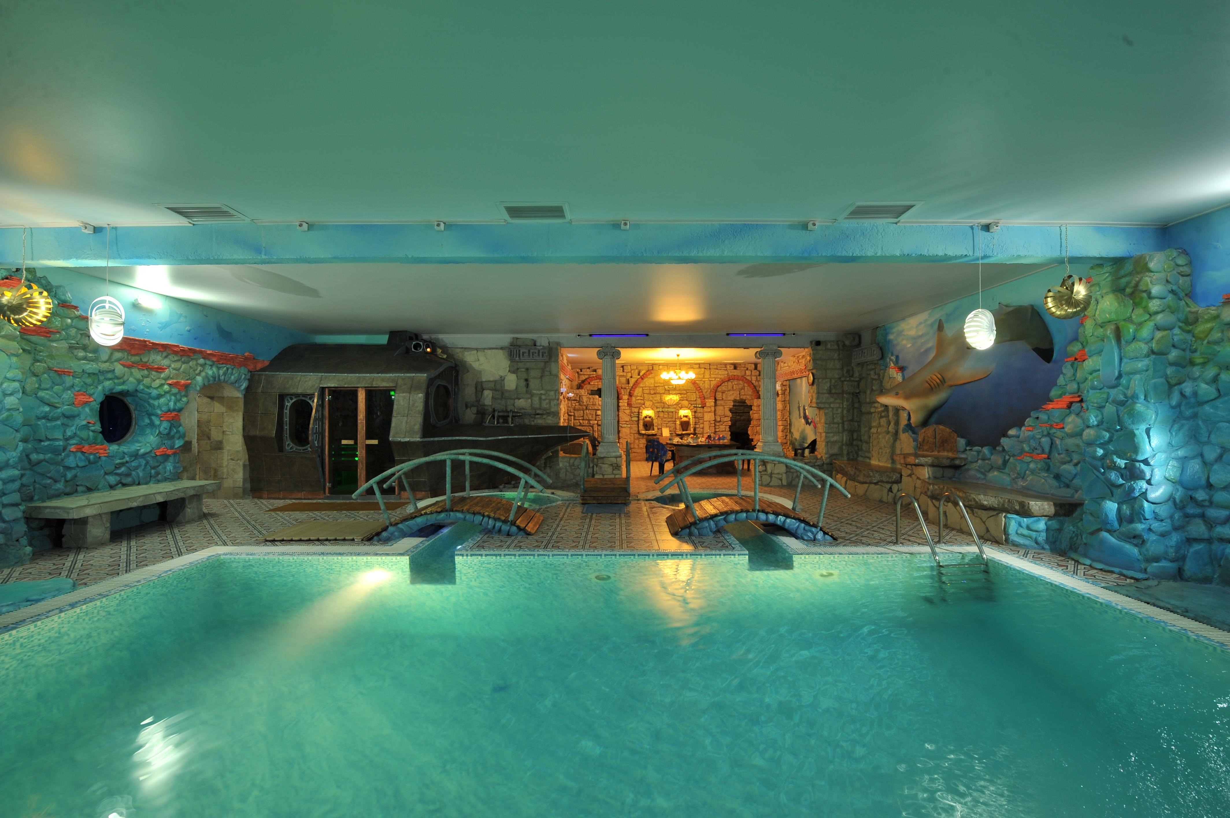 сауна с большим бассейном воронеж фото